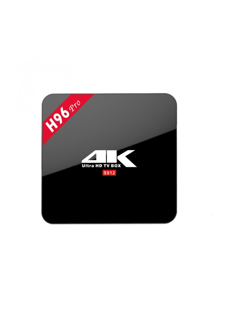 3gb/32GB Amlogic S912 H96 Pro android tv box