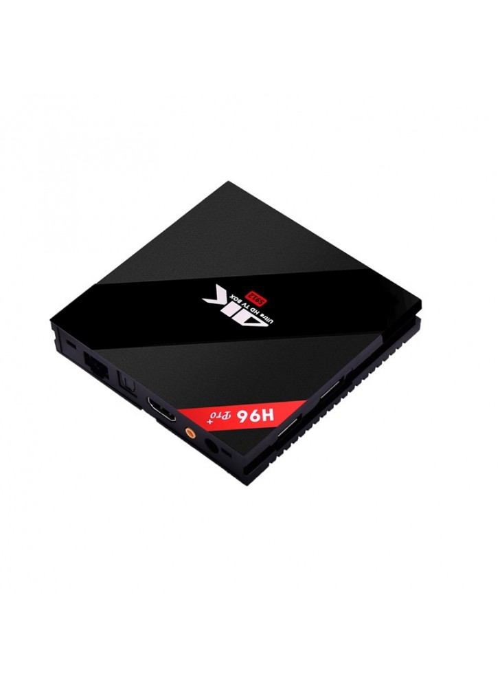 H96 Pro plus hardware h.265 world max tv box