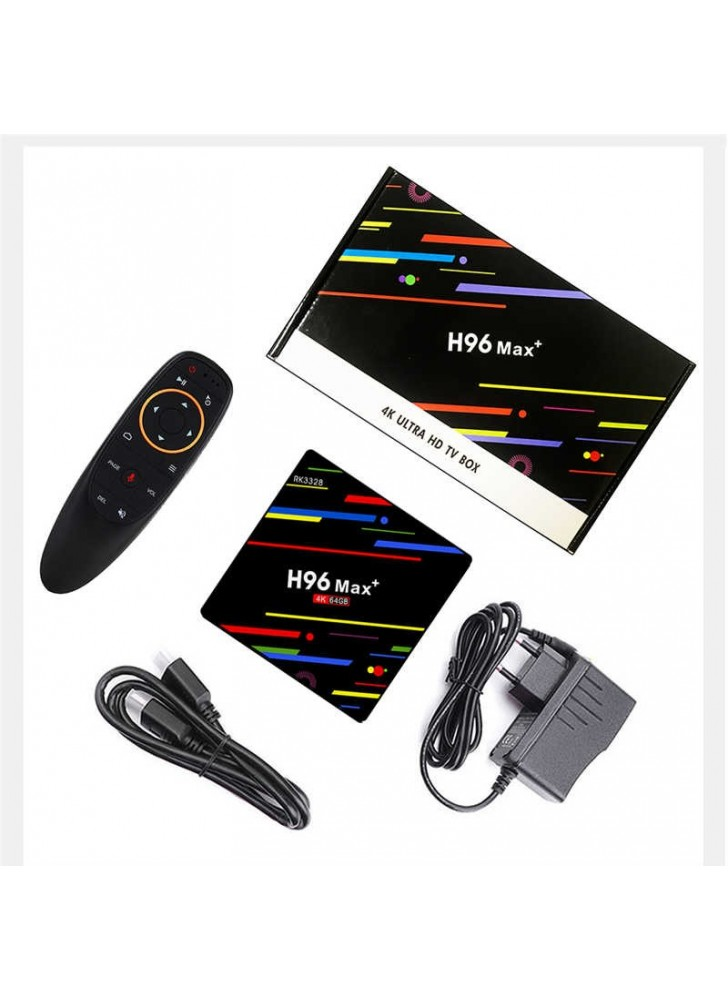 OEM Android9.0 wifi Voice control tv box