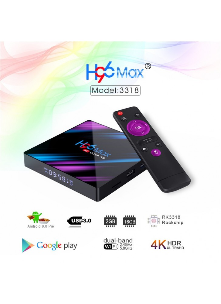 2GB+16GB Magic color Android 9.0 tv box