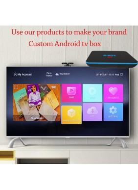 Use our android tv box to make your brand