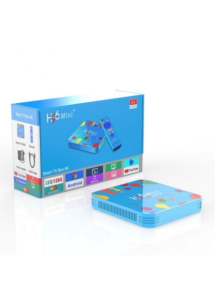 Allwinner CPU solution H96 Mini H6 Android 9.0 TV Box