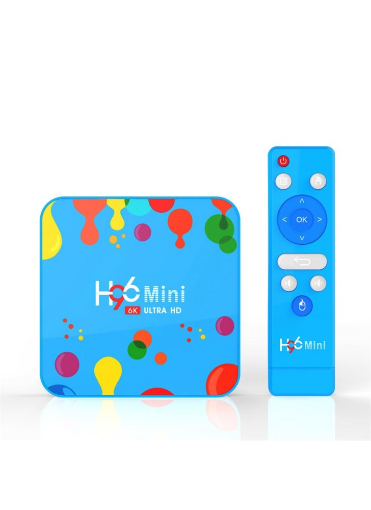 H96 MINI H6 Android 9.0 4GB RAM Quad Core Allwinner H6 6K smart tv box