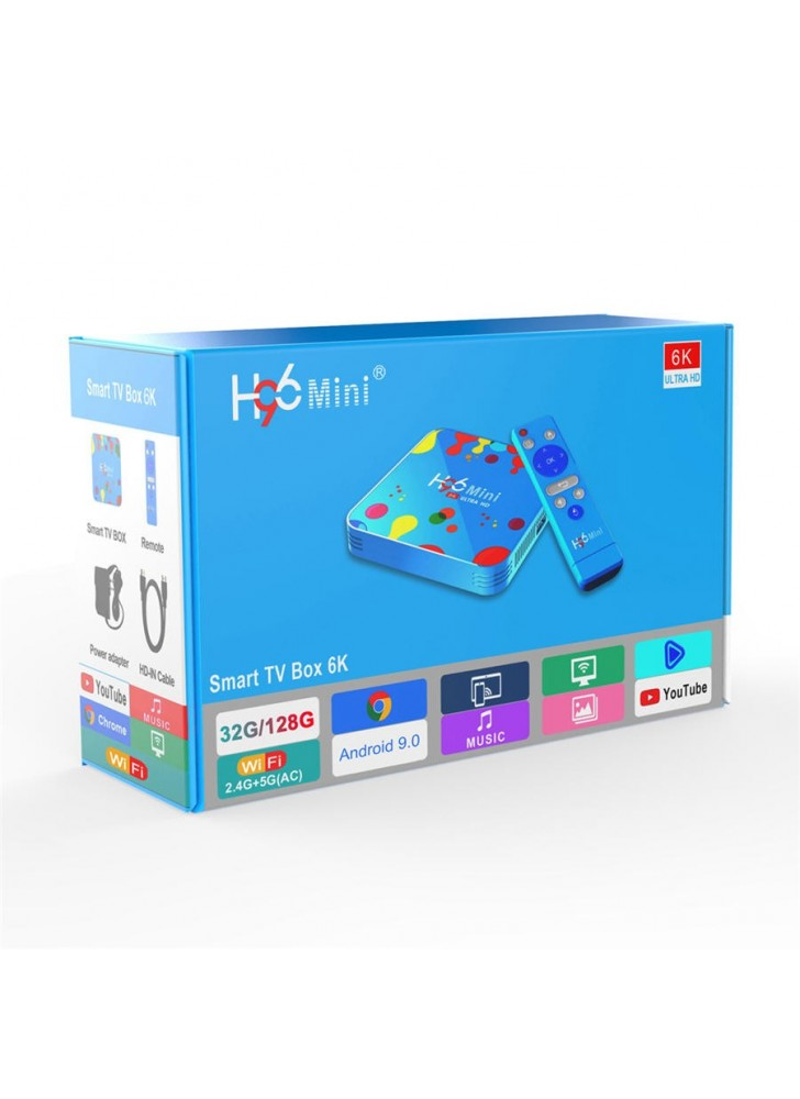 H96 mini H6 9.0OS 6K ott box