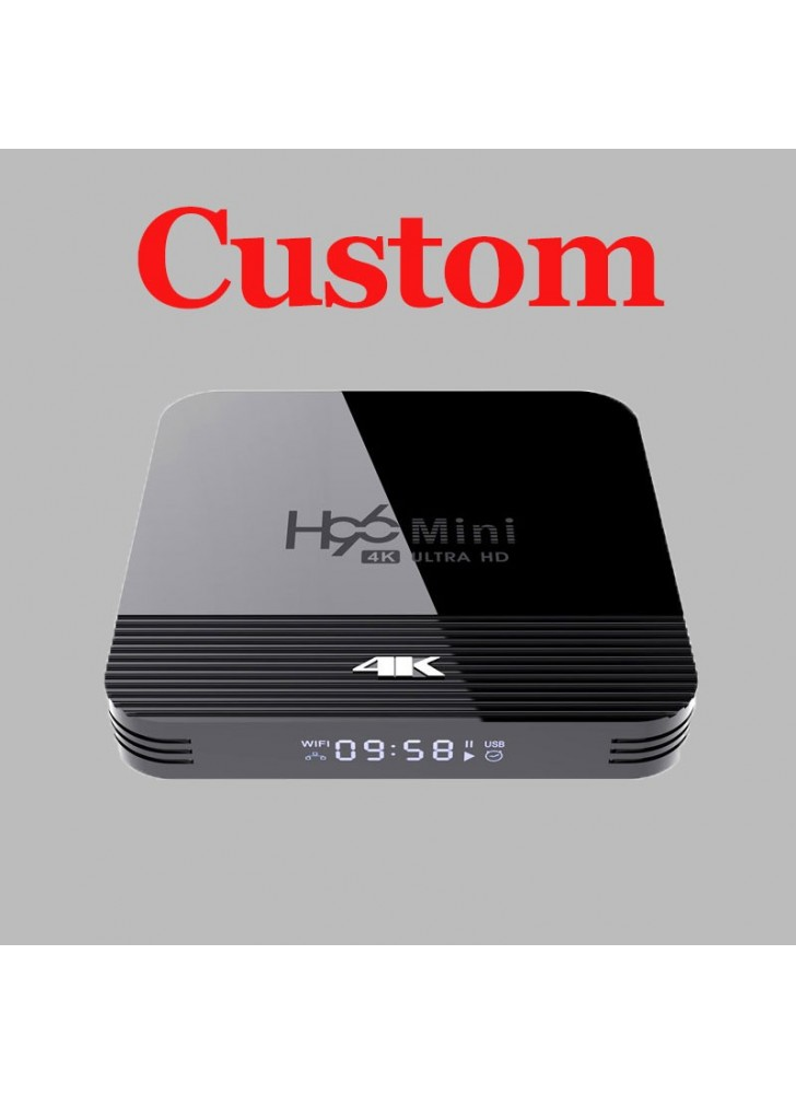 tv box player custom suppliers