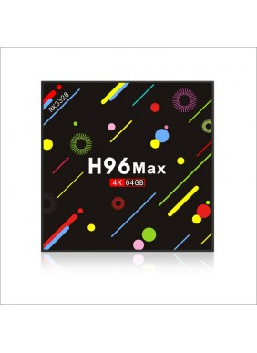 4K HD dual wifi smart Android H96 Max set top box wholesale