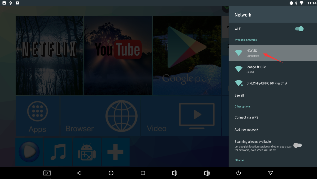 android on your tv how it works