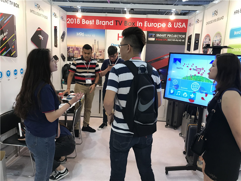 Android tv box show customers from Malaysia