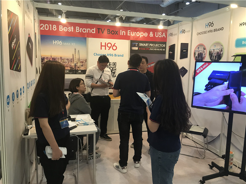 Android tv box show customers from Korea