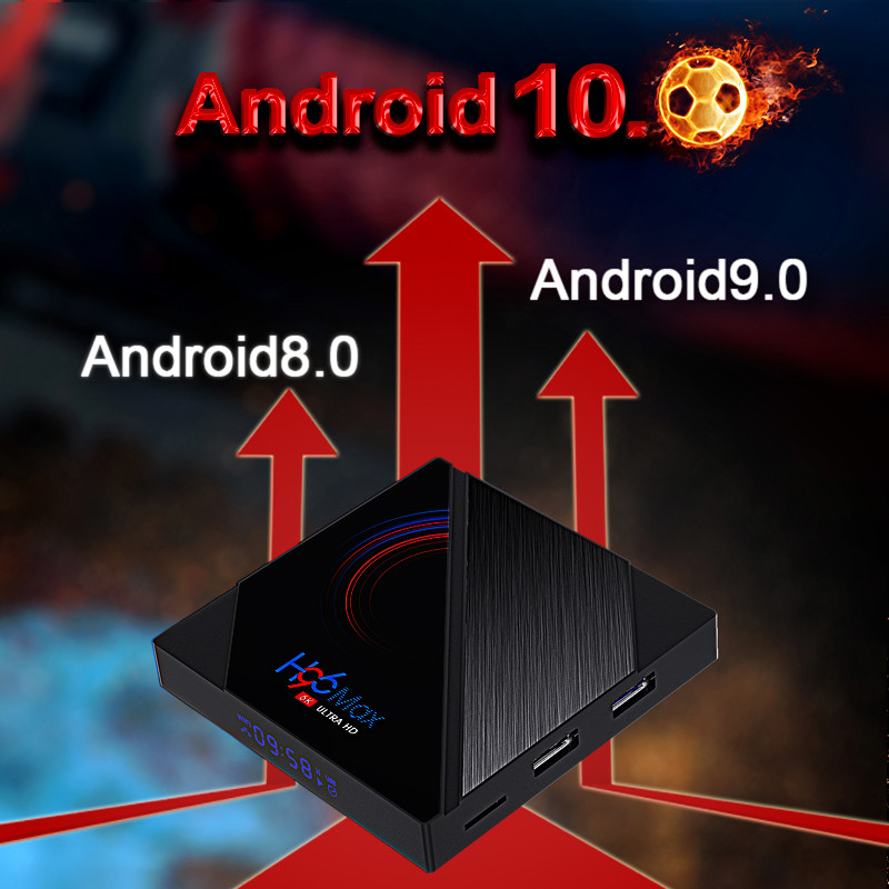 Allwinner H616 Quad Core ARM Cortex A53 android 10 set top box