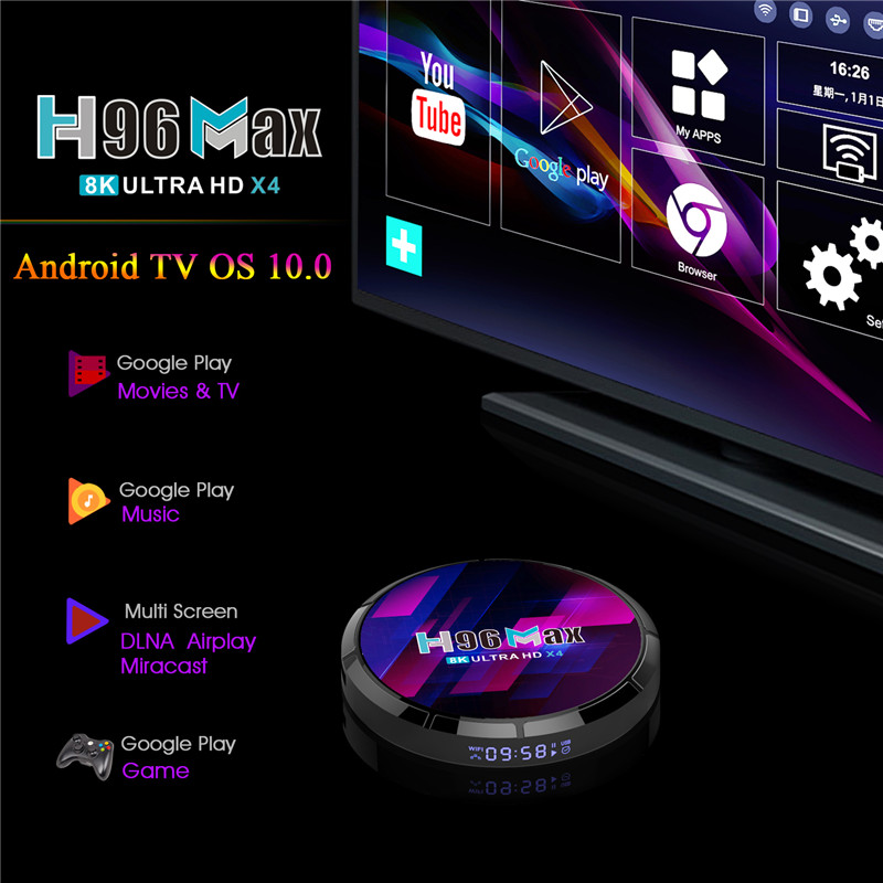 where buy amlogic s905x4 8K android tv box 4GB and 32GB