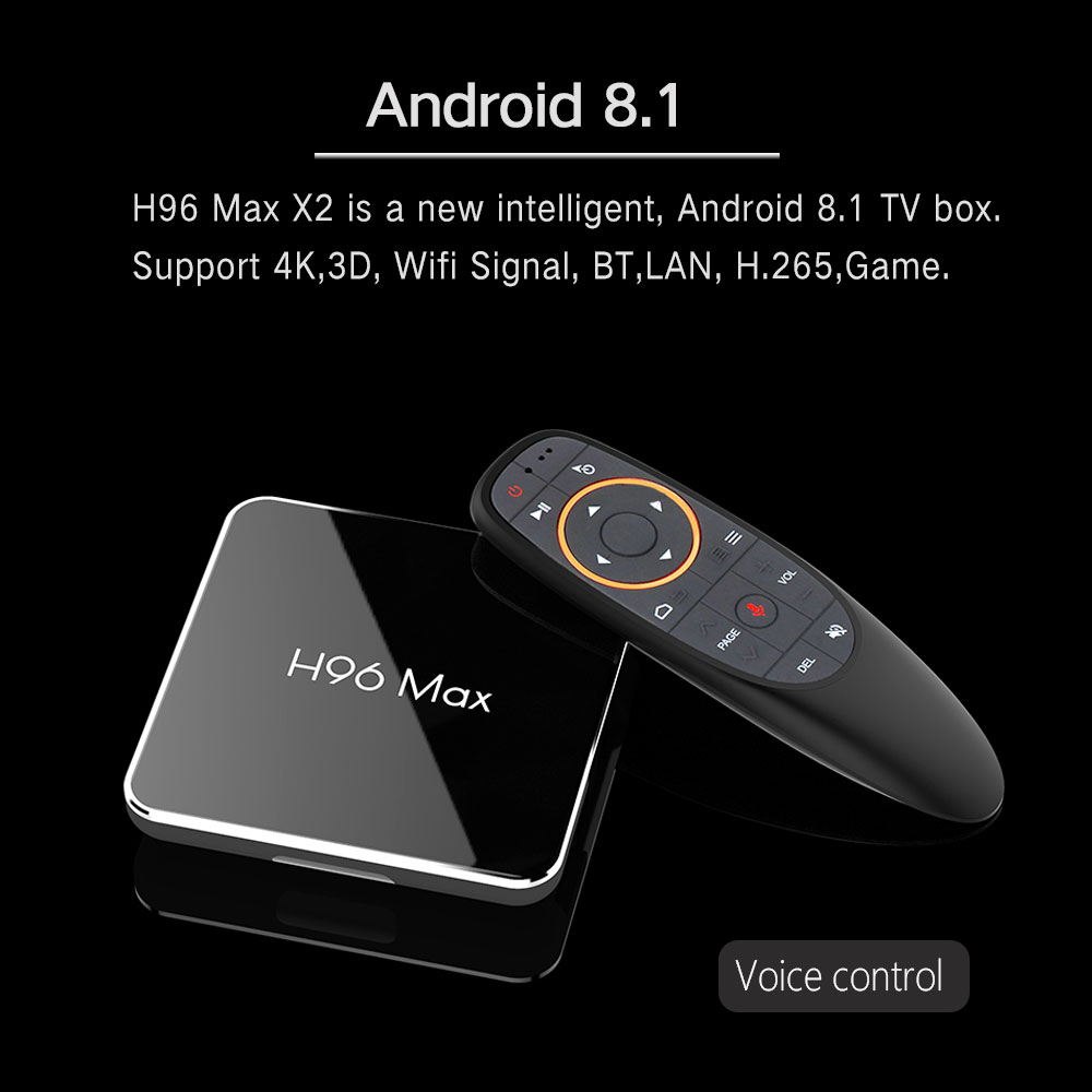 Best Price Voice remote control Android TV Box
