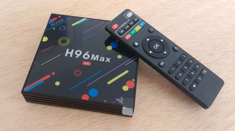 H96 MAX H2 NEWEST ANDROID 8.1 Google Video Smart TV Box