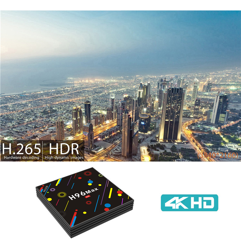 H96 MAX H2 4GB DDR3 google search box tv box