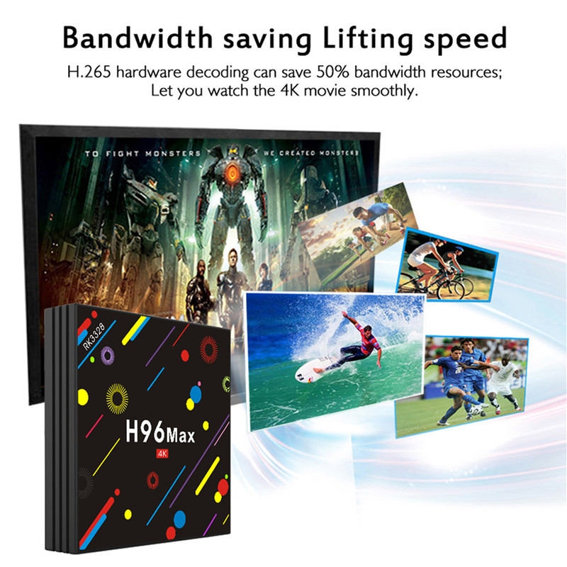 H96 MAX H2 4GB air tv box