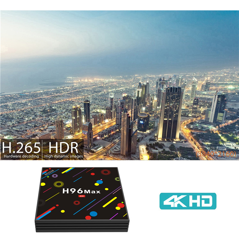 H96 MAX H2 DDR3 4GB air set top box