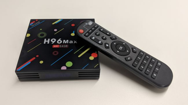 Newest H96 smart tv box review