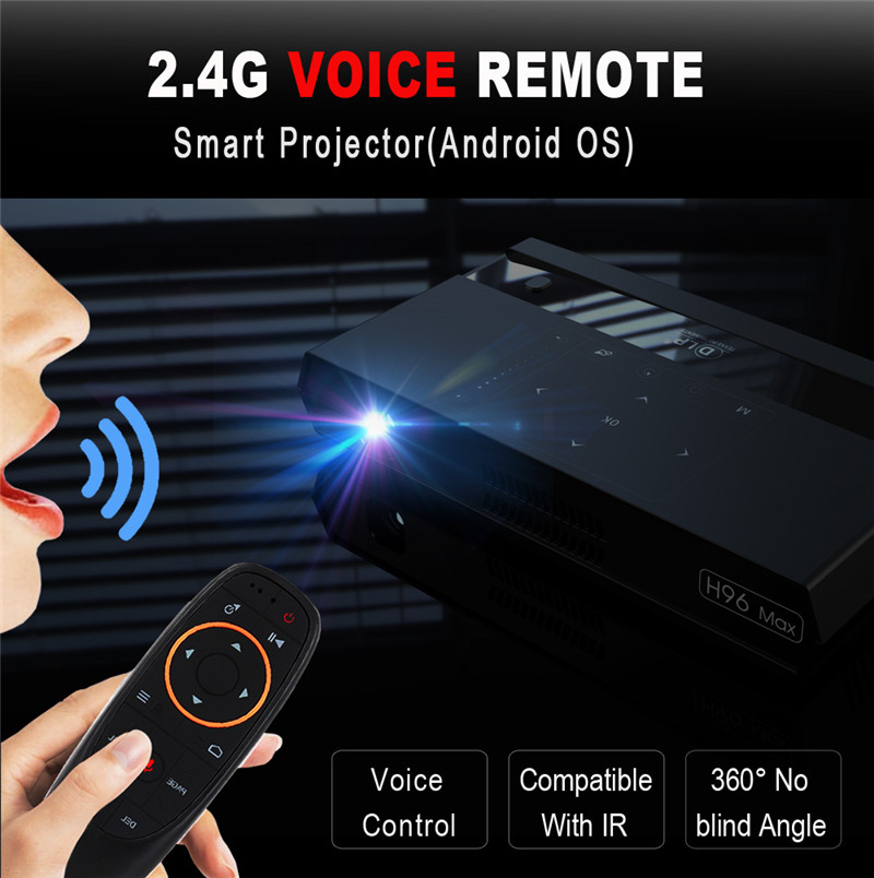 H96 factory direct sales turn off projector with android