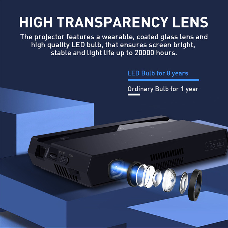 New arrival 200 lumens android led projector