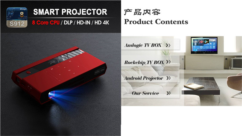 H96 max smart DLP projector UE review
