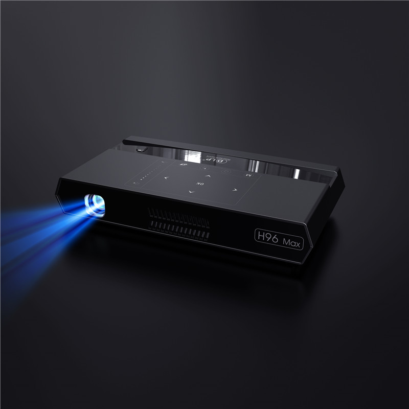 New arrival 200 lumens touch panel turn off projector with android