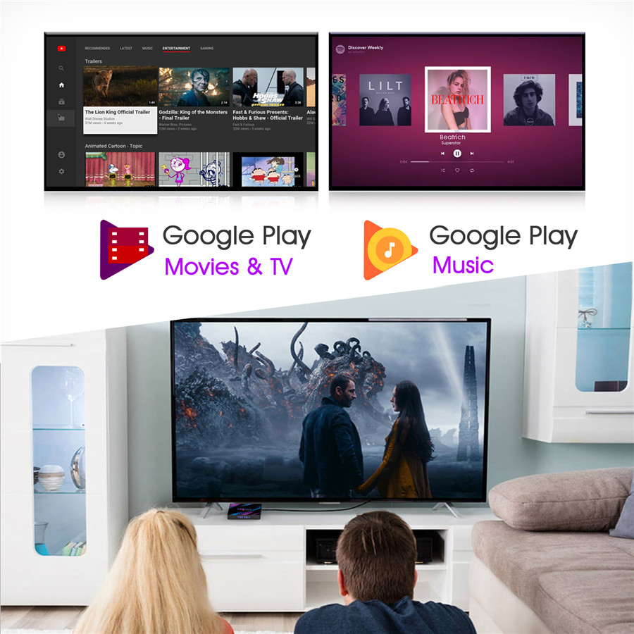 android 10 tv box watch tv
