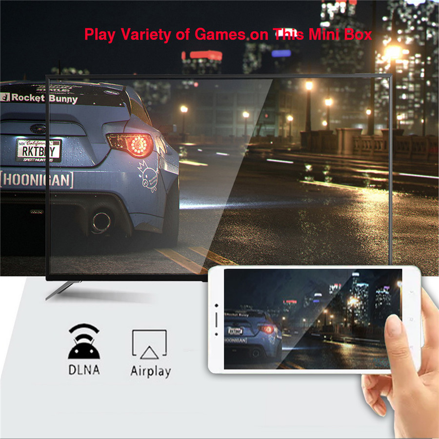 android 10 tv box With mobile phone screen