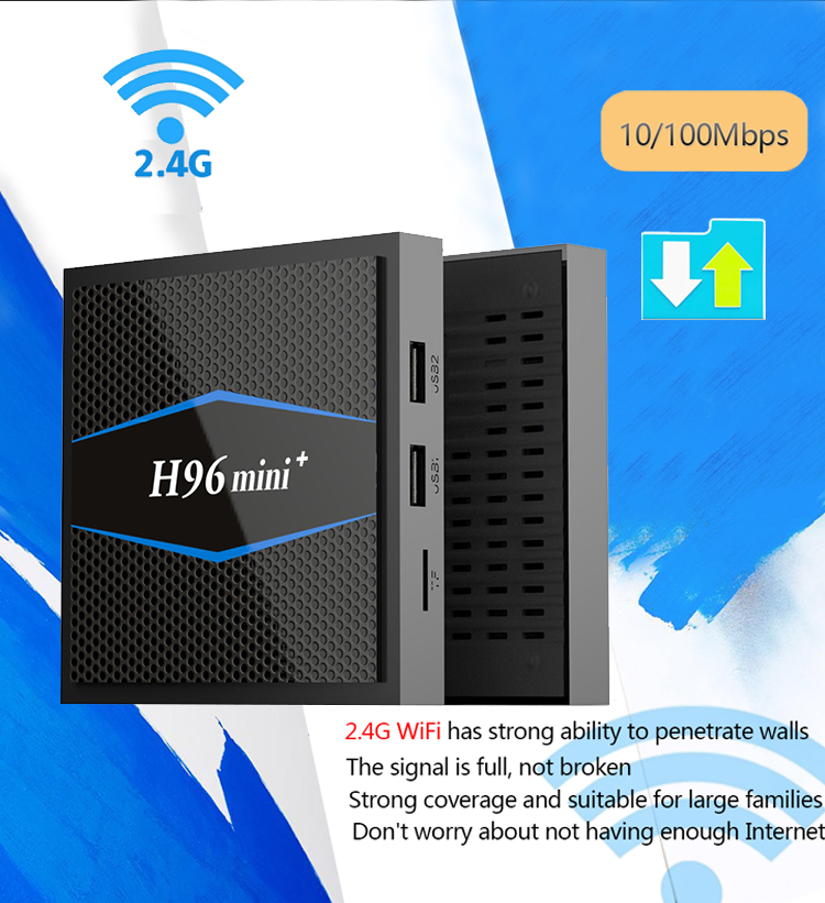 H96 mini plus android 7.1 quad core ott box
