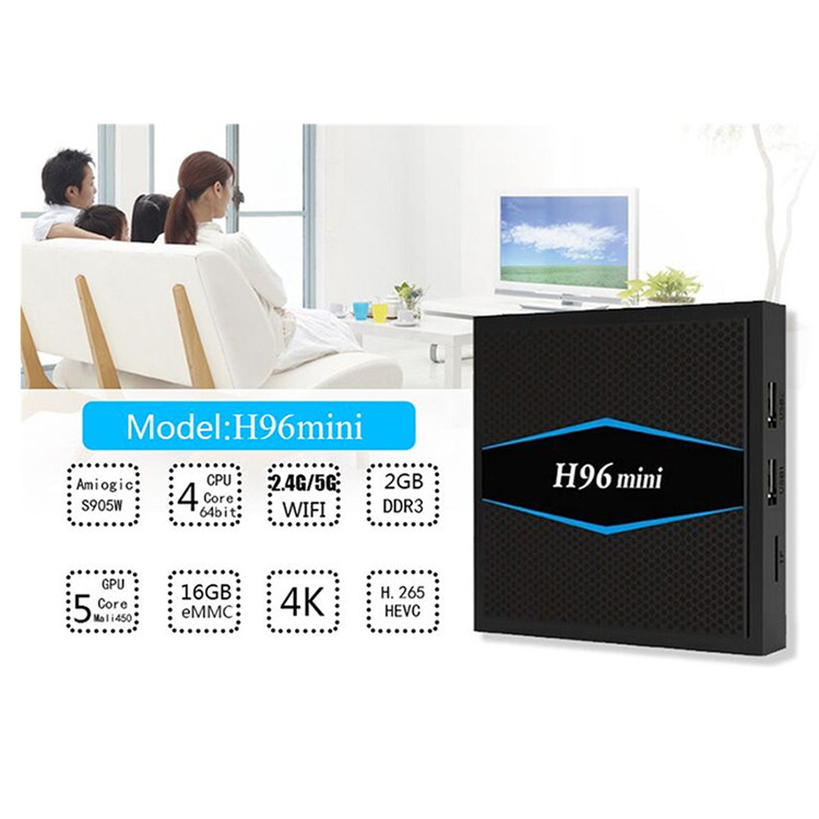 H96 mini 2.2GB 5G Wifi world max smart tv box