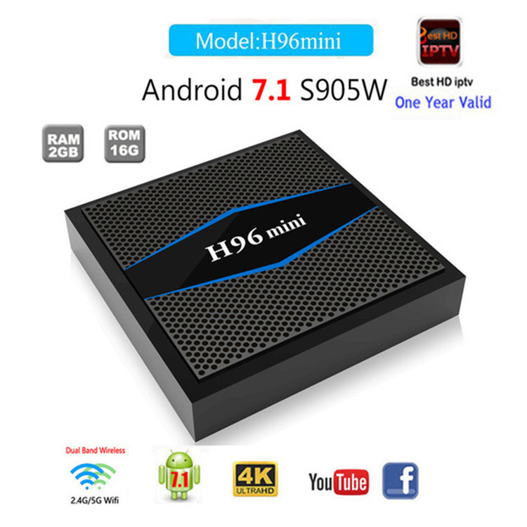 H96 mini 4Core S905W stream smart tv box