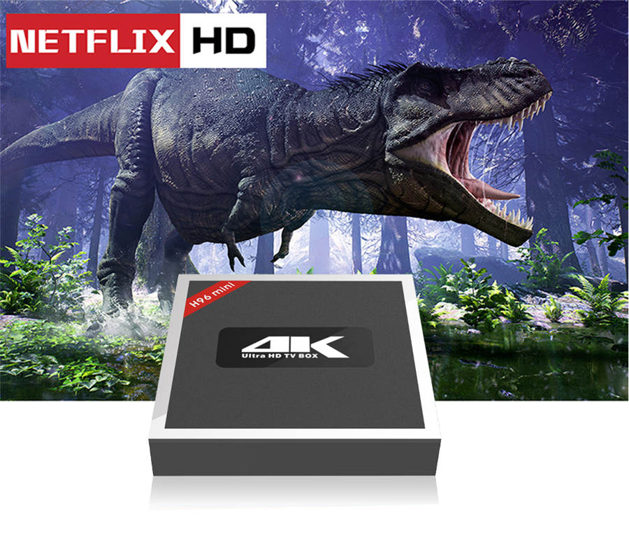 4K  android 7.1 HDMI In and HDMI Out H96 Mini TV Box