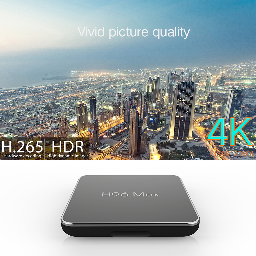wholesale Android OS8.1 H96 Max x2 tv box for kodi