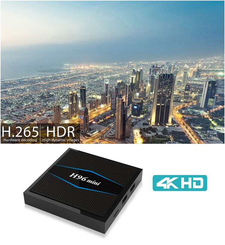 H96 mini Double wifi google search box set top box