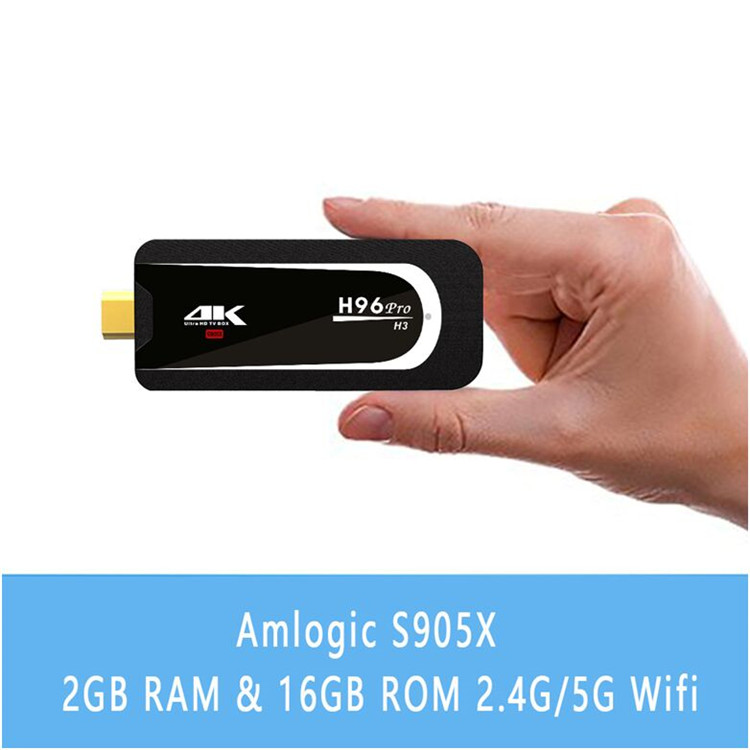 H96 Pro H3 7.1OS quad core smart tv dongle