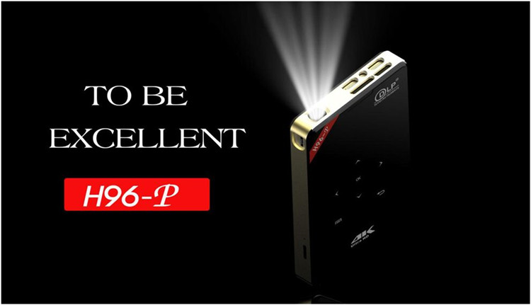 H96-P 4K 1080P Mini DLP Projector Wifi Bluetooth Home Theater
