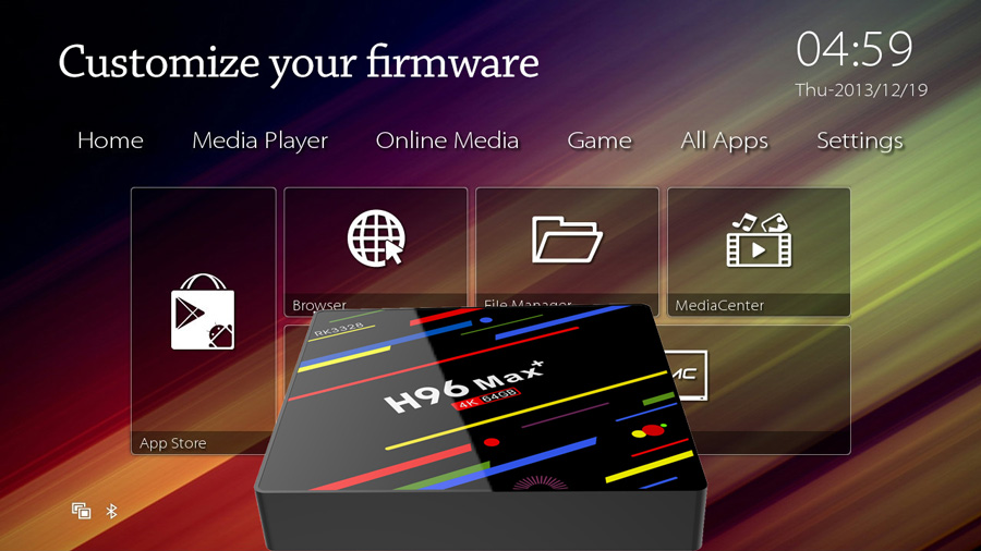 custom tv box factory for your firmware