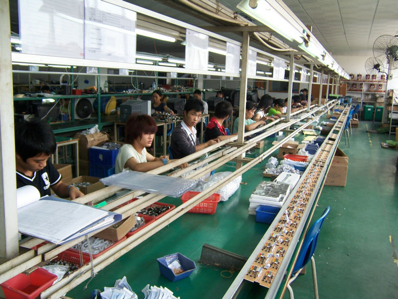 Custom your tv box for factory production line