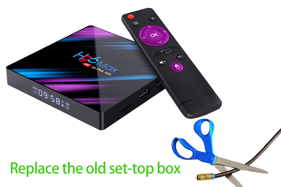 Replace the old set-top box