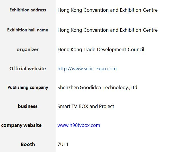 Where is the 4k android tv-box exhibition