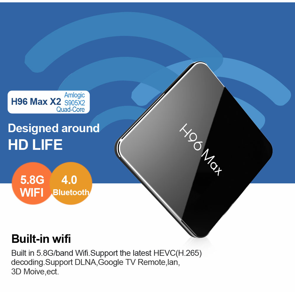 H96 max x2 android tv stick wholesales