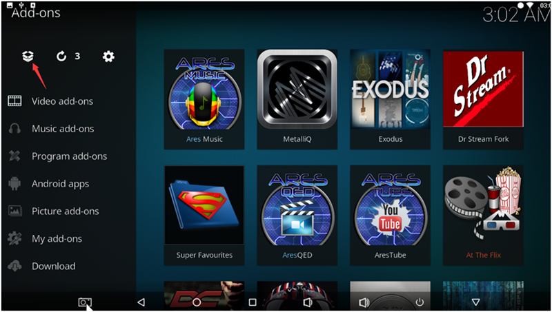 Install the kodi plug-in tutorial on Android tv box