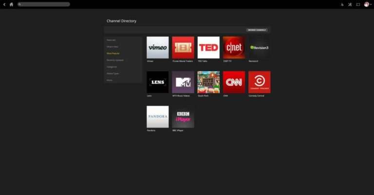 Youtube Android tv box for Plex