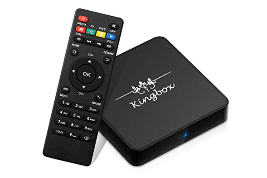 Kingbox fully loaded android tv box in 2021