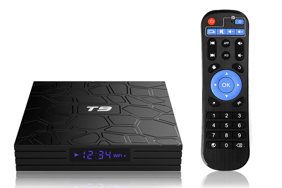 Haosihd T9 new android tv box in 2021