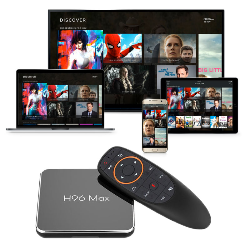 what is the ott smart tv box