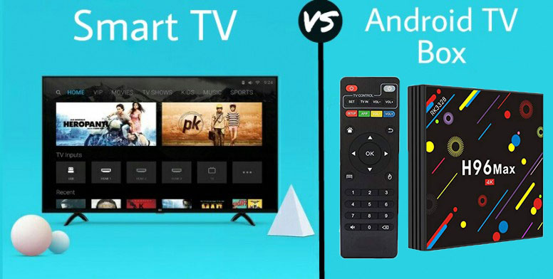 4K smart tv vs 4K HD android tv box