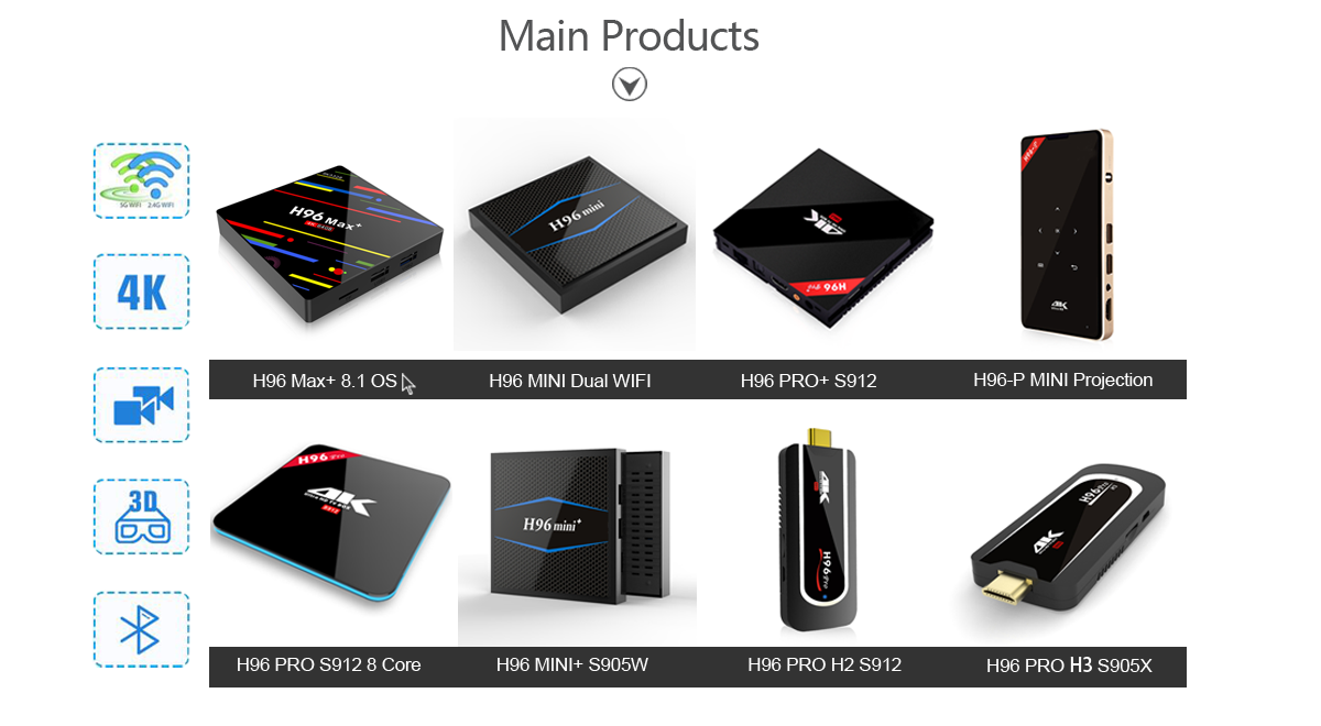 Android tv box factory ODM products