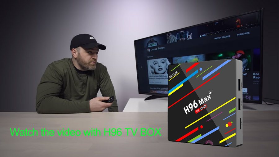 Watch the video with H96 TV BOX