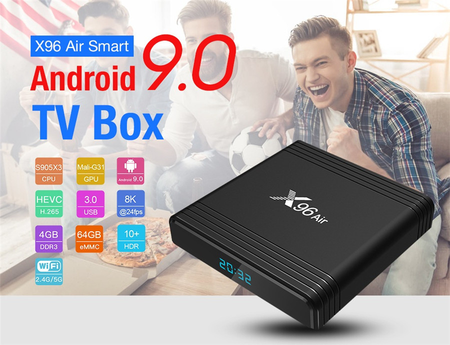 X96 air tv box suppliers from China