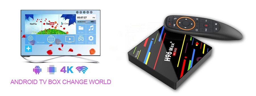 H96 max plus android tv box factory